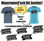 Hoyerswerd'sch für Insider - Das sind unsere 5 Motive für echte Hoyerswerdaer. Damit könnt Ihr Euch Euer persönliches T-Shirt gestalten.