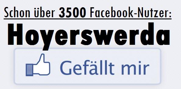 Schon über 3500 Facebook-Nutzer: Hoyerswerda gefällt mir.