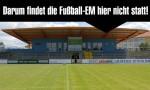 Darum findet die Fußball-EM nicht in Hoyerswerda statt.