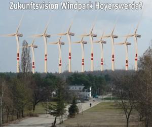 Zukunftsvision Windpark Hoyerswerda