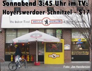 Sonnabend 3:45 Uhr im TV: Hoyerswerdaer Schnitzel - $17