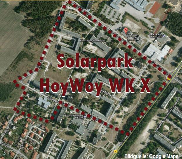 Solarpark Hoyerswerda WK X