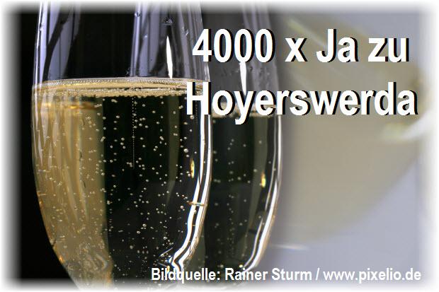 4000 x Ja zu Hoyerswerda - Facebook machts möglich!