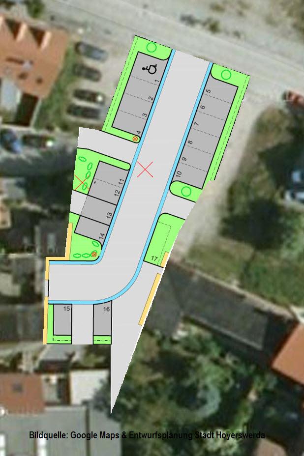 Die Baupläne an der Grünstraße im Detail.
