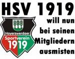 Der Hoyerswerdaer Sportverein 1919 will nun bei seinen Mitgliedern ausmisten.