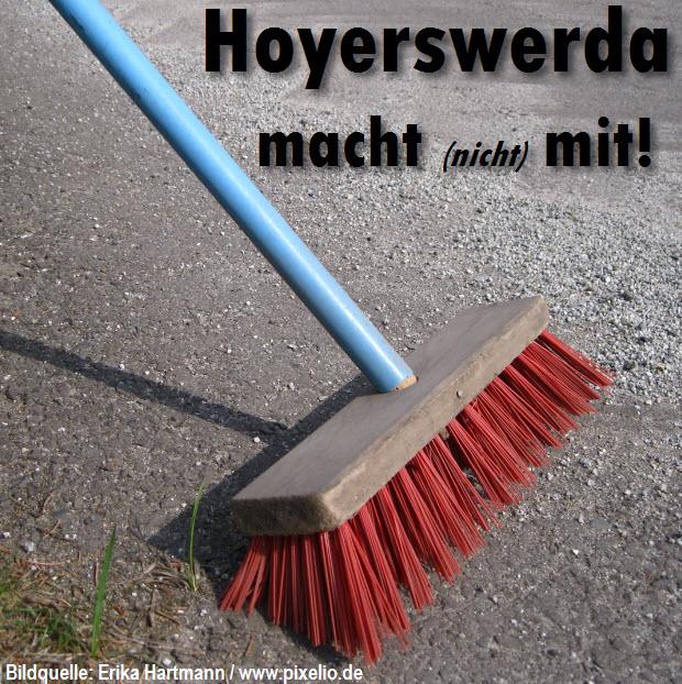 Hoyerswerda macht (nicht) mit!