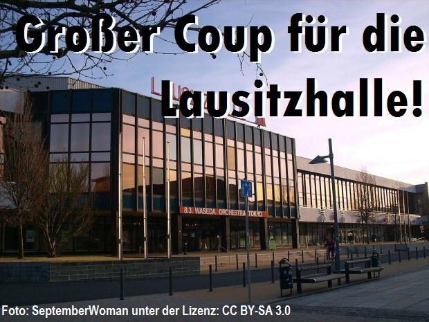 Großer Coup für die Lausitzhalle - Tournee-Auftakt für Luca Hänni in Hoyerswerda!