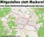 Mitgestalten statt Meckern! Jetzt beim Stadtentwicklungskonzept mitreden! Bis zum 16. Juli 2012 nimmt die Stadt Hoyerswerda noch Bürgerhinweise entgegen und muss diese in die Planung einfließen lassen.
