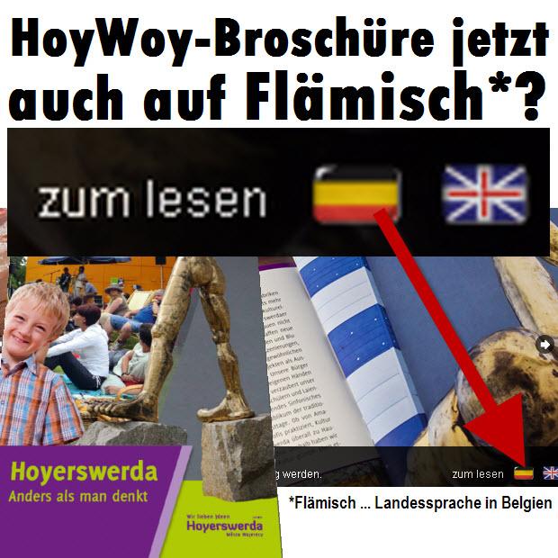HoyWoy-Broschüre jetzt auch auf Flämisch?