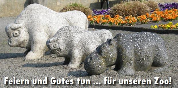 Feiern und Gutes tun ... für unseren Zoo!