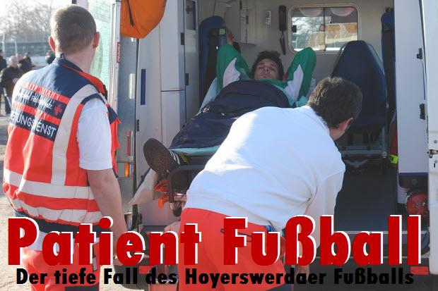 Patient Fußball - Der tiefe Fall des Hoyerswerdaer Fußballs