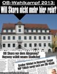 Oberbürgermeister-Wahlkampf 2013 in Hoyerswerda: Will Skora nicht mehr ins Rathaus?