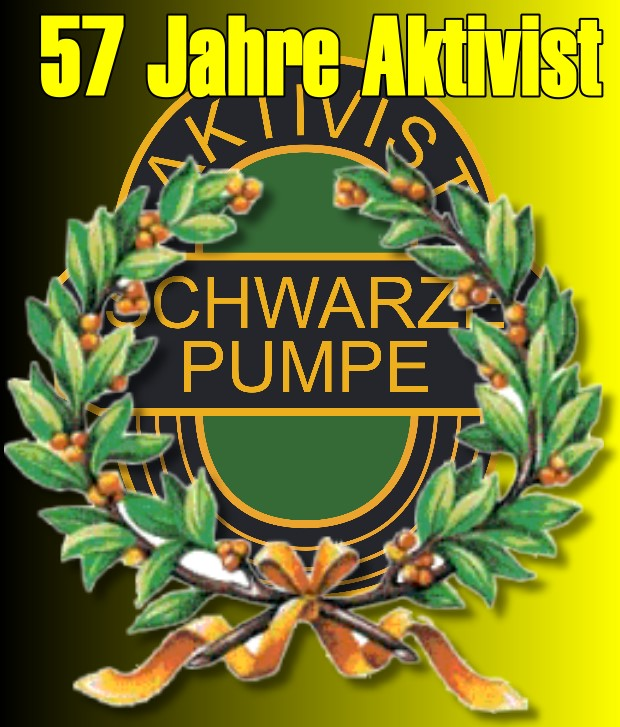 Happy Birthday: 57 Jahre Aktivist Schwarze Pumpe!
