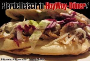 Versteckt sich in Dönerspießen, die in Hoyerswerda hergestellt wurden, tatsächlich Pferdefleisch?
