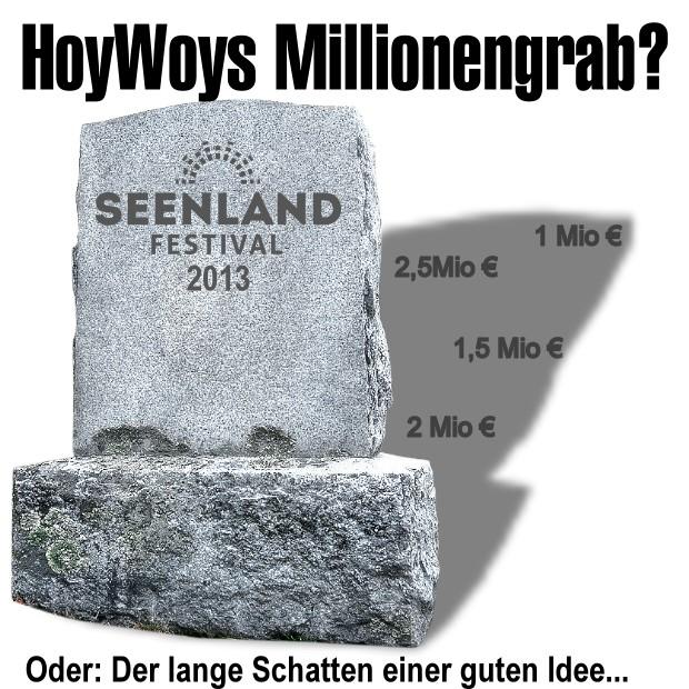 Das Lausitzer Seenland-Festival: HoyWoy's Millionengrab?