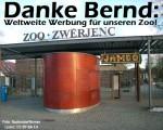 Danke Bernd: Weltweite Werbung für den Zoo Hoyerswerda