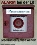 ALARM bei der Lausitzer Rundschau! Die Leserzahlen sinken weiter!
