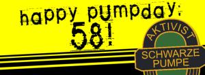 Hoyerswerda: Happy Pumpday - Aktivist Schwarze Pumpe wird 58 Jahre alt!