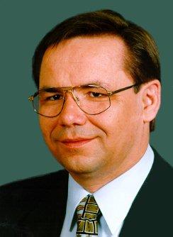 Ulrich Klinkert, Bundestagsabgeordneter der CDU als direkt gewählter Kandidat des Wahlkreises Hoyerswerda von 1990-1998 im Deutschen Bundestag. Foto: Archiv Deutscher Bundestag