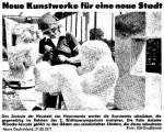 Auf ein Neues: 10. Internationales Bildhauersymposium in Hoyerswerda - Spender gesucht! So berichtete das Neue Deutschland 1977 über das 2. Symposium in Hoyerswerda.