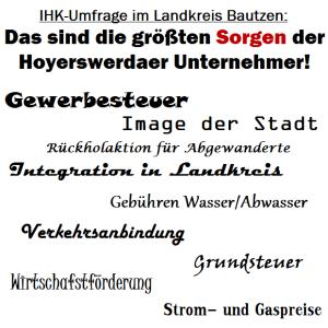 IHK-Umfrage im Landkreis Bautzen ergibt: Das sind die größten Sorgen der Hoyerswerdaer Unternehmer!