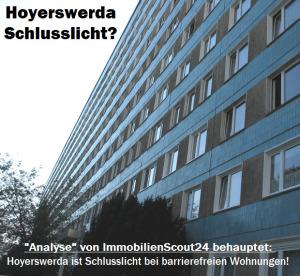 Ist Hoyerswerda Schlusslicht bei barrierefreien Wohnungen?