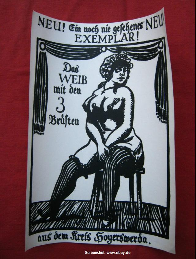 Wer weiß mehr... über die Frau mit den 3 Brüsten aus dem Kreis Hoyerswerda?