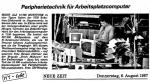 Geschichte: High-Tech aus Hoyerswerda!