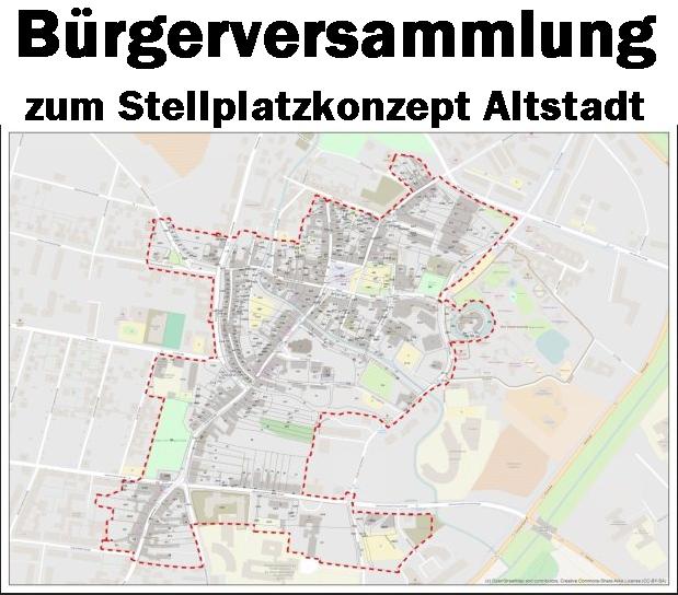 Bürgerversammlung zum Stellplatzkonzept in der Hoyerswerdaer Altstadt am 13. Januar 2016