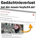 Hoyerswerda: Gedächtnisverlust bei der neuen hoyte24.de!