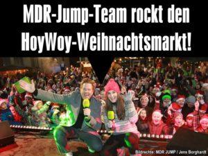 MDR-Jump-Team rockt den Hoyerswerdaer Weihnachtsmarkt!